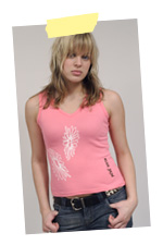 Women's Flowers Vest Top