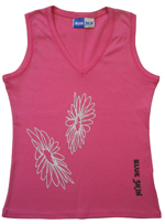 Flowers Womens Vest Top