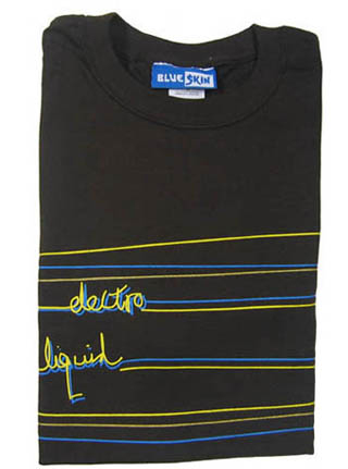 Morgans Spiced - Blueskin - Electro Liquid T-shirt