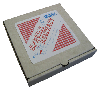 Pizza Box Gift Packaging