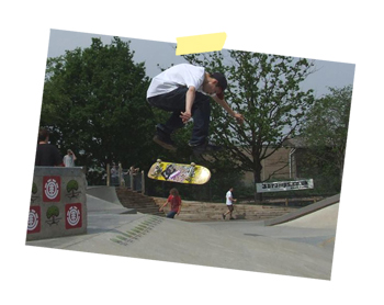 Jake Alley Opp Nollie Big Heel